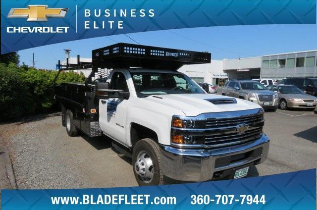 2018 Silverado 3500 Regular Cab DRW 4x4,  Knapheide Contractor Body #10656 - photo 17