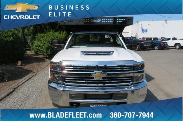 2018 Silverado 3500 Regular Cab DRW 4x4,  Knapheide Contractor Body #10656 - photo 18