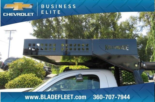 2018 Silverado 3500 Regular Cab DRW 4x4,  Knapheide Contractor Body #10656 - photo 21