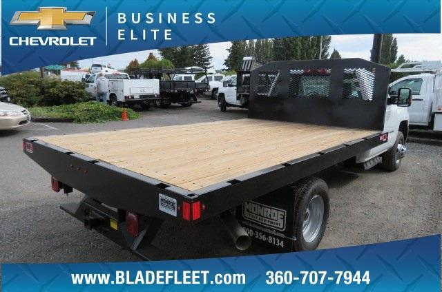 2018 Silverado 3500 Regular Cab DRW 4x2,  Monroe Work-A-Hauler II Platform Body #10860 - photo 10