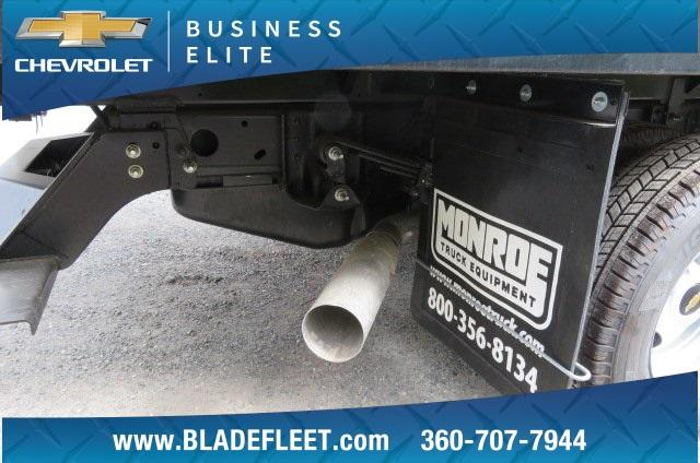 2018 Silverado 3500 Regular Cab DRW 4x2,  Monroe Work-A-Hauler II Platform Body #10860 - photo 18
