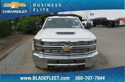 2018 Silverado 3500 Regular Cab DRW 4x2,  Monroe Work-A-Hauler II Platform Body #10860 - photo 12