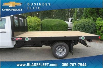 2018 Silverado 3500 Regular Cab DRW 4x2,  Monroe Work-A-Hauler II Platform Body #10860 - photo 5