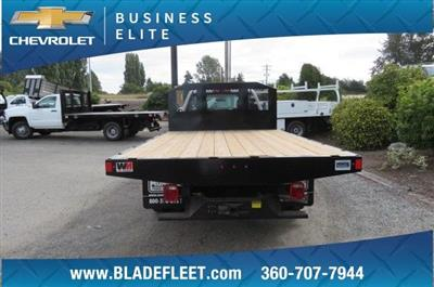 2018 Silverado 3500 Regular Cab DRW 4x2,  Monroe Work-A-Hauler II Platform Body #10860 - photo 7