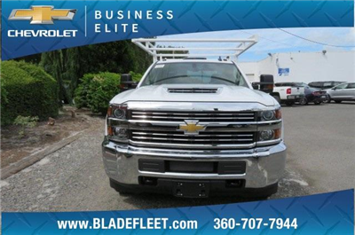 2018 Silverado 3500 Crew Cab DRW 4x4,  Harbor ComboMaster Combo Body #10897 - photo 23
