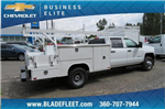 2018 Silverado 3500 Crew Cab DRW 4x4,  Harbor ComboMaster Combo Body #10897 - photo 4