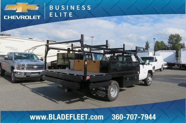 2018 Silverado 3500 Regular Cab DRW 4x4,  Knapheide Contractor Body #11277 - photo 19