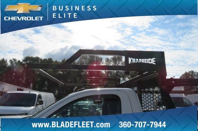 2018 Silverado 3500 Regular Cab DRW 4x4,  Knapheide Contractor Body #11277 - photo 22