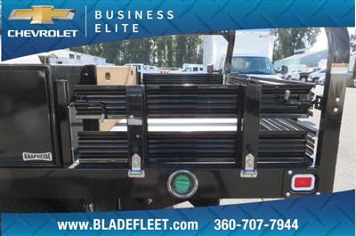 2018 Silverado 3500 Regular Cab DRW 4x4,  Knapheide Contractor Body #11277 - photo 11