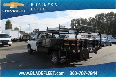 2018 Silverado 3500 Regular Cab DRW 4x4,  Knapheide Contractor Body #11277 - photo 2