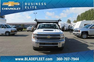 2018 Silverado 3500 Regular Cab DRW 4x4,  Knapheide Contractor Body #11277 - photo 21