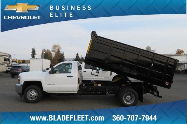2018 Silverado 3500 Regular Cab DRW 4x2,  Knapheide Landscape Dump #11437 - photo 3