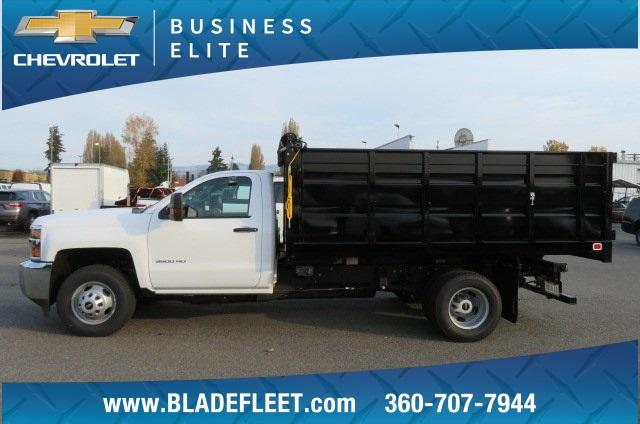 2018 Silverado 3500 Regular Cab DRW 4x2,  Knapheide Landscape Dump #11437 - photo 4