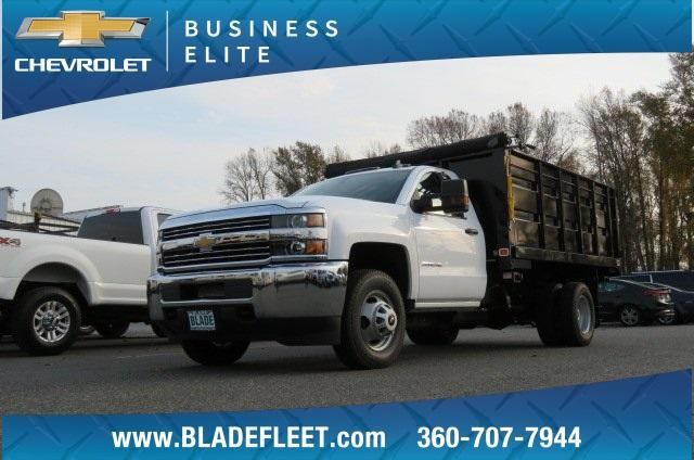 2018 Silverado 3500 Regular Cab DRW 4x2,  Knapheide Landscape Dump #11437 - photo 6