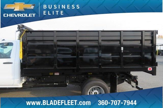 2018 Silverado 3500 Regular Cab DRW 4x2,  Knapheide Landscape Dump #11437 - photo 7
