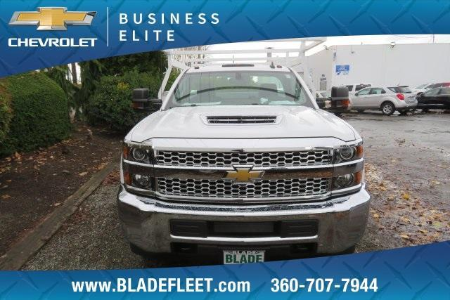 2019 Silverado 3500 Regular Cab DRW 4x4,  Harbor ComboMaster Combo Body #11469 - photo 1