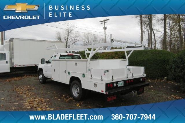 2019 Silverado 3500 Regular Cab DRW 4x4,  Harbor ComboMaster Combo Body #11469 - photo 4