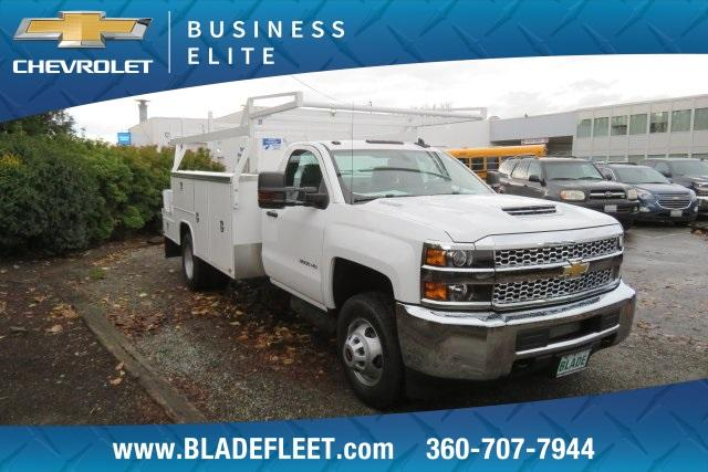 2019 Silverado 3500 Regular Cab DRW 4x4,  Harbor ComboMaster Combo Body #11469 - photo 5