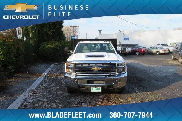 2018 Silverado 3500 Regular Cab DRW 4x4,  Knapheide Platform Body #11478 - photo 11