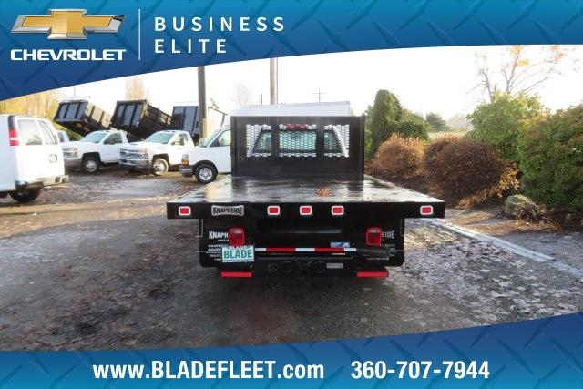 2018 Silverado 3500 Regular Cab DRW 4x4,  Knapheide Platform Body #11478 - photo 6