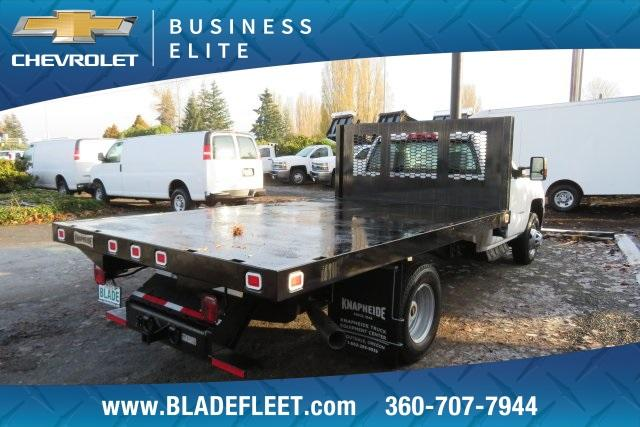 2018 Silverado 3500 Regular Cab DRW 4x4,  Knapheide Platform Body #11478 - photo 9