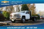 2018 Silverado 3500 Regular Cab DRW 4x4,  Knapheide Platform Body #11478 - photo 1