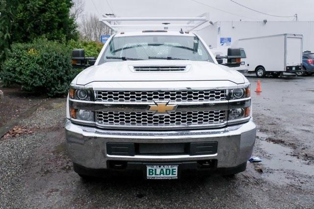 2019 Silverado 3500 Crew Cab DRW 4x2,  Harbor Standard Contractor Body #11569 - photo 9