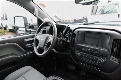 2019 Silverado 3500 Crew Cab DRW 4x2,  Harbor Standard Contractor Body #11569 - photo 8