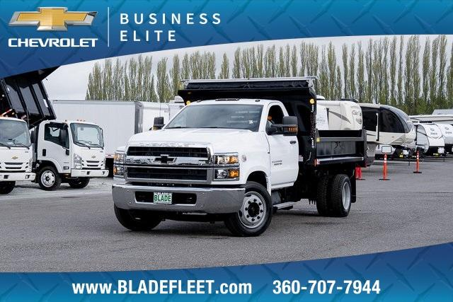 2019 Silverado Medium Duty DRW 4x2,  Monroe MTE-Zee Dump Body #11869 - photo 1