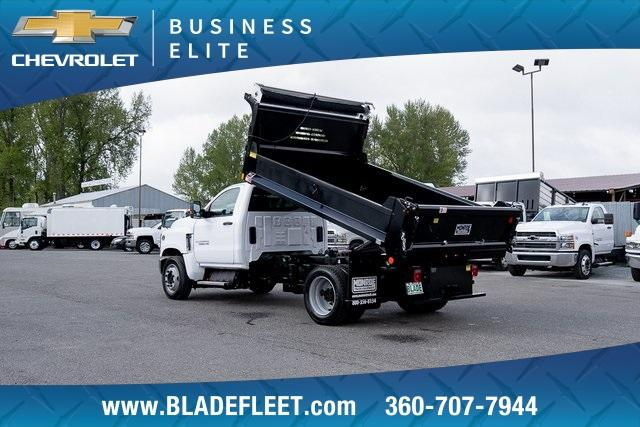2019 Silverado Medium Duty DRW 4x2,  Monroe MTE-Zee Dump Body #11869 - photo 2