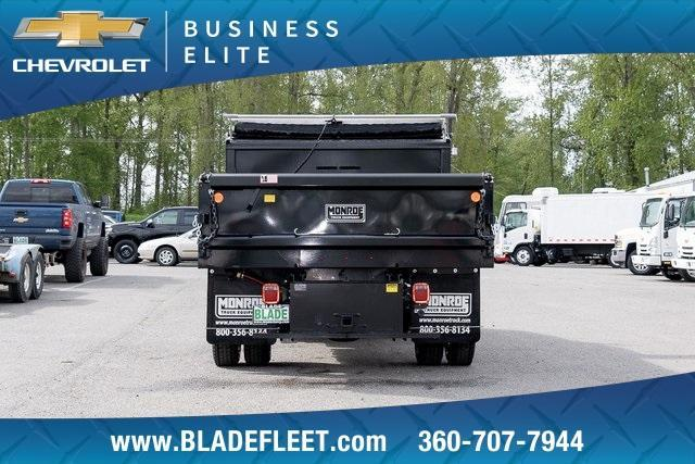 2019 Silverado Medium Duty DRW 4x2,  Monroe MTE-Zee Dump Body #11869 - photo 9