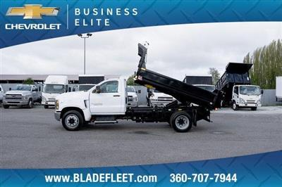 2019 Silverado Medium Duty DRW 4x2,  Monroe MTE-Zee Dump Body #11869 - photo 3