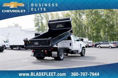2019 Silverado Medium Duty DRW 4x2,  Monroe MTE-Zee Dump Body #11869 - photo 5