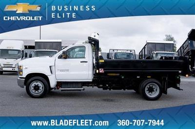 2019 Silverado Medium Duty DRW 4x2,  Monroe MTE-Zee Dump Body #11869 - photo 7