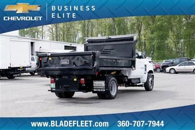 2019 Silverado Medium Duty DRW 4x2,  Monroe MTE-Zee Dump Body #11869 - photo 8