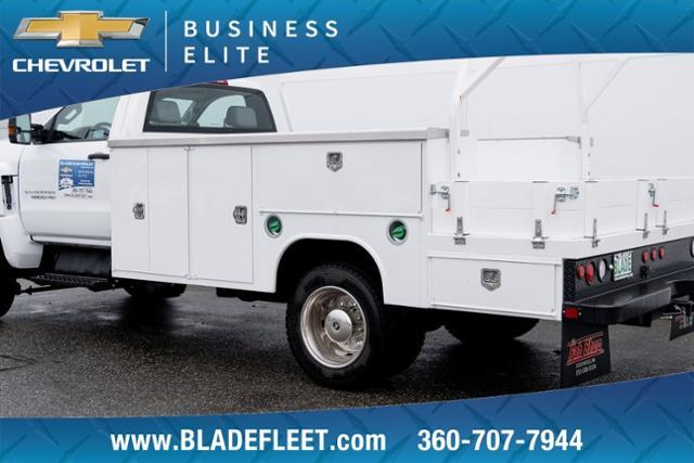 2019 Chevrolet Silverado 5500 Regular Cab DRW 4x4, Harbor Combo Body #12706 - photo 1