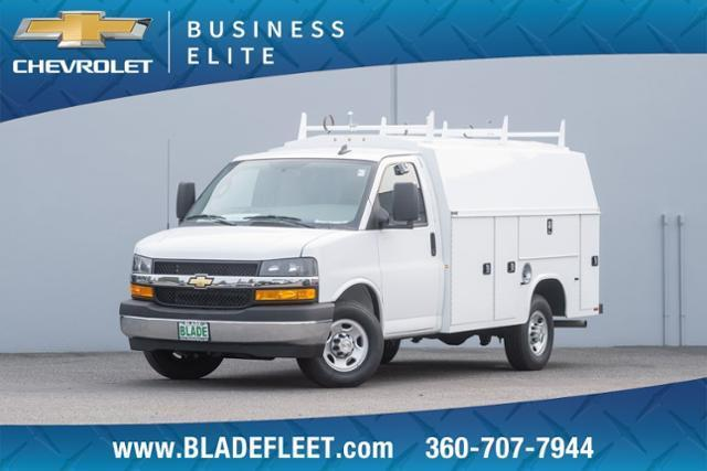2020 Chevrolet Express 3500 RWD, Knapheide Service Body #13261 - photo 1