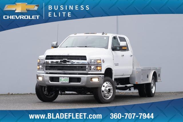 2020 Chevrolet Silverado 6500 Crew Cab DRW 4x4, CM Truck Beds Platform Body #13338 - photo 1