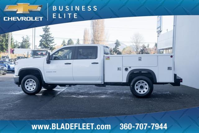 2020 Chevrolet Silverado 3500 Crew Cab 4x4, Monroe Service Body #13340 - photo 1