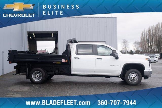 2020 Chevrolet Silverado 3500 Crew Cab DRW 4x4, Monroe Dump Body #13424 - photo 1
