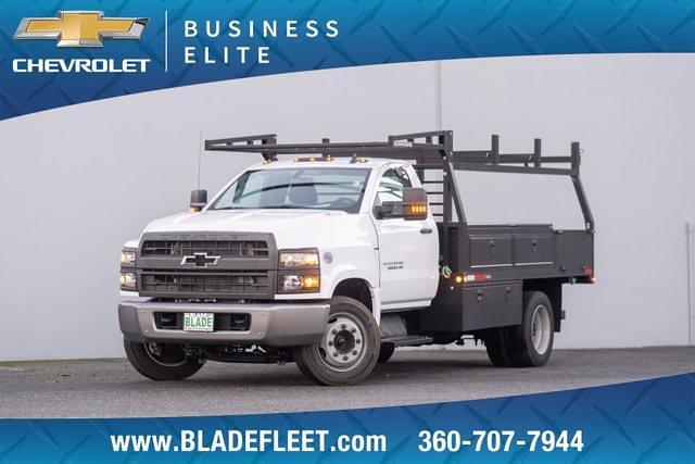 2019 Chevrolet Silverado 5500 Regular Cab DRW 4x2, The Fab Shop Contractor Body #13498 - photo 1