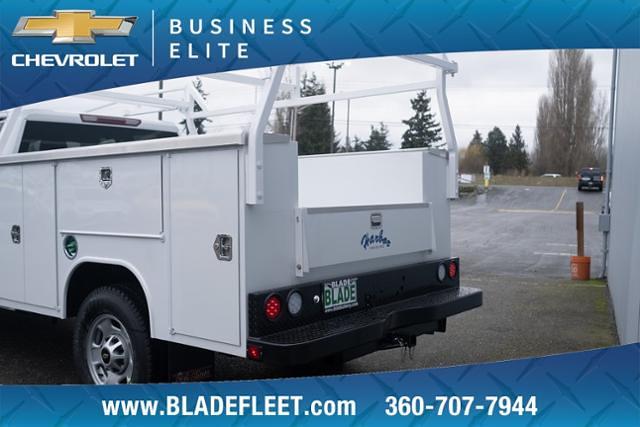 2021 Chevrolet Silverado 2500 Double Cab 4x4, Harbor Service Body #13634 - photo 1