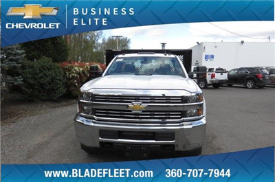 2017 Silverado 3500 Regular Cab DRW, Knapheide Value-Master X Platform Body #9456 - photo 3