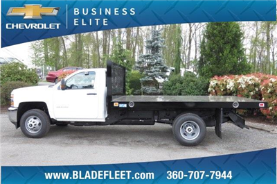 2017 Silverado 3500 Regular Cab DRW, Knapheide Value-Master X Platform Body #9456 - photo 4