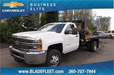 2017 Silverado 3500 Regular Cab DRW, Knapheide Value-Master X Platform Body #9456 - photo 21