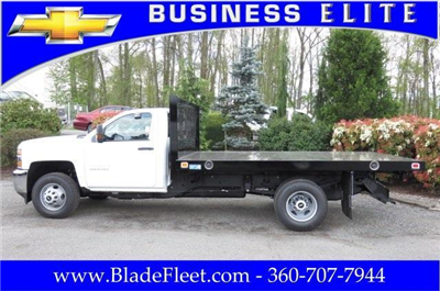 2017 Silverado 3500 Regular Cab DRW, Knapheide Value-Master X Platform Body #9456 - photo 7