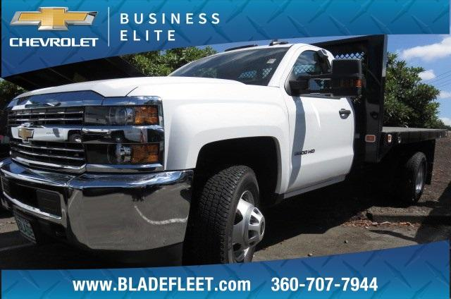 2017 Silverado 3500 Regular Cab DRW 4x2,  Knapheide Value-Master X Platform Body #9533 - photo 1