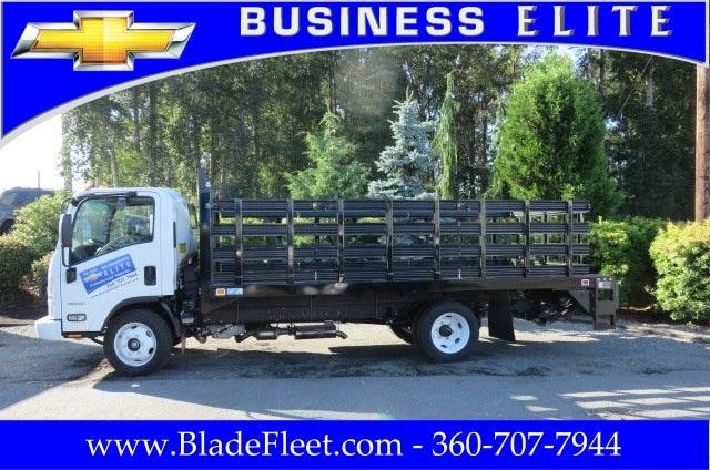 2016 Low Cab Forward Regular Cab, Knapheide Value-Master X Stake Bed #9537 - photo 2