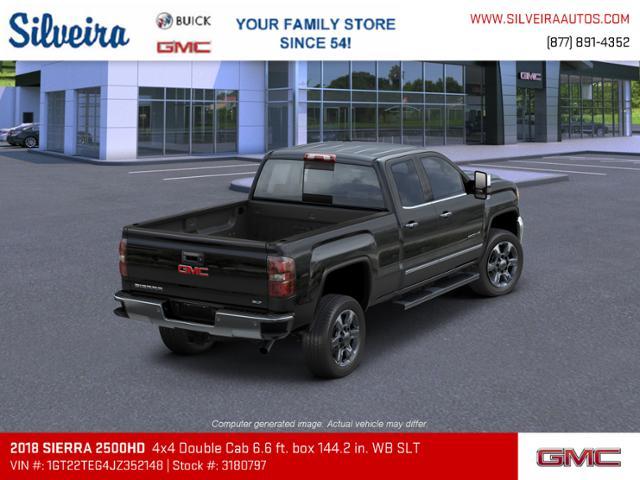 2018 Sierra 2500 Extended Cab 4x4 Pickup Stock 3180797