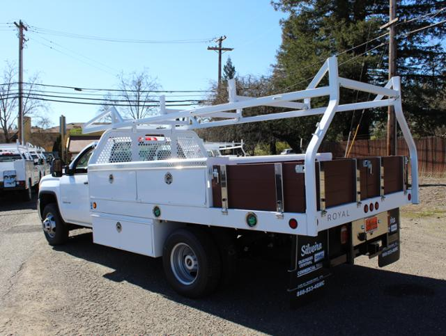 2018 Sierra 3500 Regular Cab DRW 4x2,  Royal Contractor Body #3180838 - photo 1